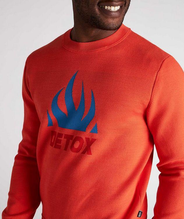K-Texas Jacquard Cotton-Blend Sweatshirt picture 4