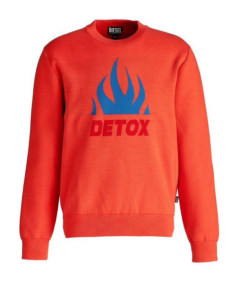 K-Texas Jacquard Cotton-Blend Sweatshirt image 0