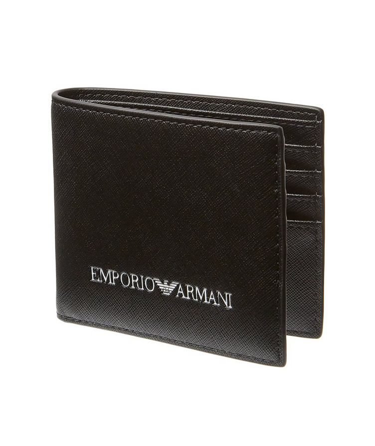 Saffiano Recycled Leather Bifold image 0