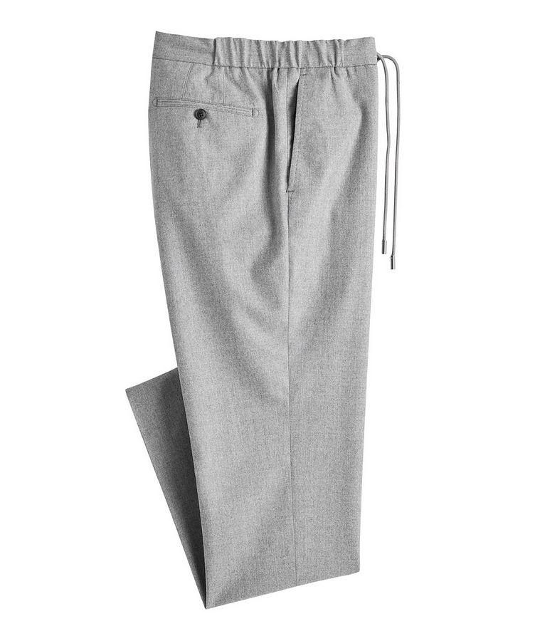 Slim-Fit Wool Dress Pants  image 0