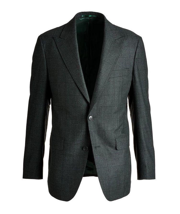 Slim Fit Glen Checked Wool Sports Jacket image 0