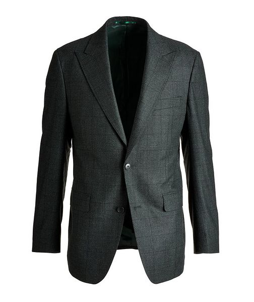 Atelier Munro Slim Fit Glen Checked Wool Sports Jacket