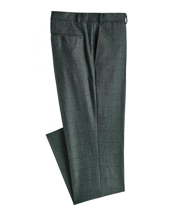 Glen Check Wool Dress Pants image 0