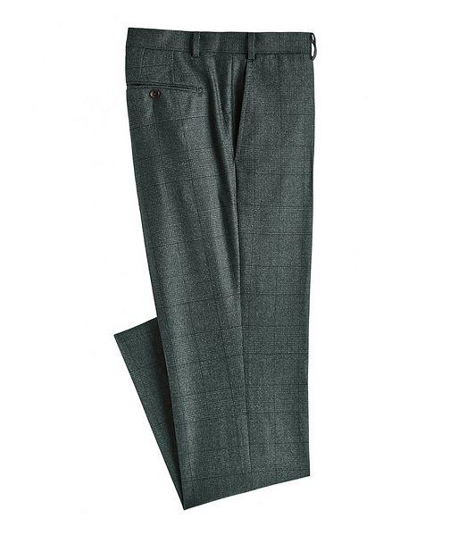 Atelier Munro Glen Check Wool Dress Pants