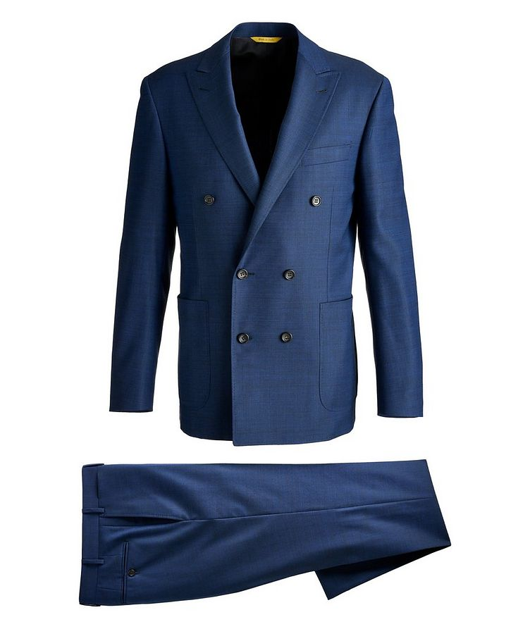 Kei Double-Breasted Wool Suit image 0