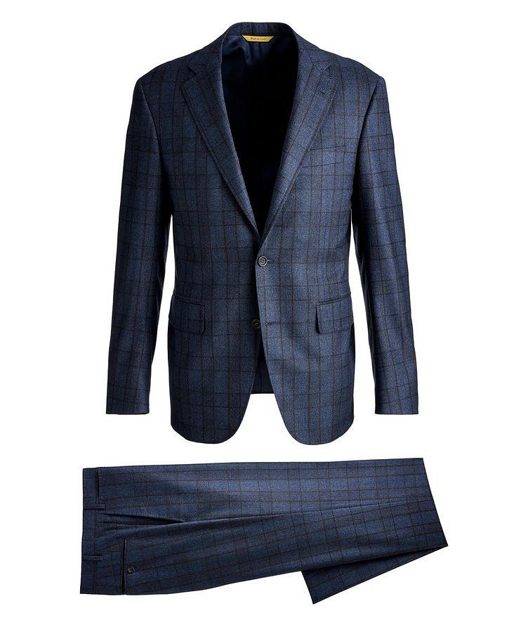 Kei Glen Check Wool Suit image 0