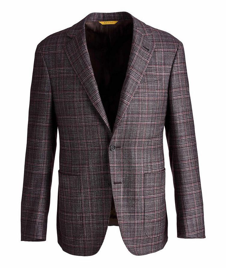 Kei Plaid Wool, Cashmere & Silk Sports Jacket image 0