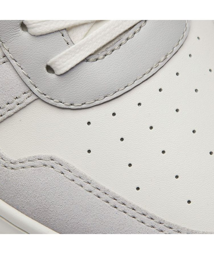 Hoxton Suede-Leather Sneakers image 5