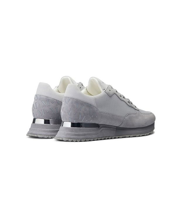 Popham Mesh-Suede Sneakers picture 3