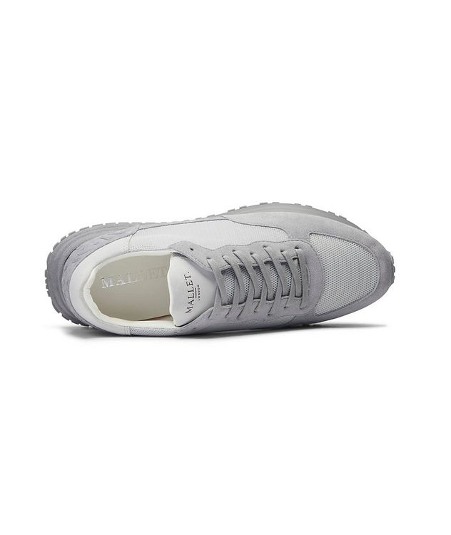 Popham Mesh-Suede Sneakers picture 4