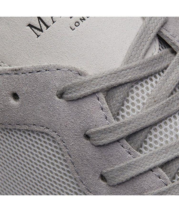 Popham Mesh-Suede Sneakers image 5
