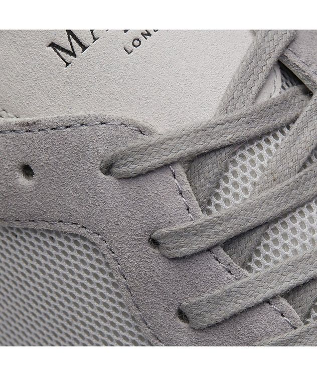 Popham Mesh-Suede Sneakers picture 6