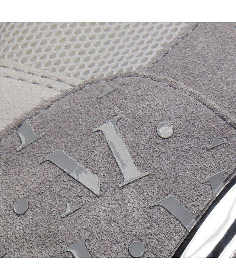 Popham Mesh-Suede Sneakers image 6