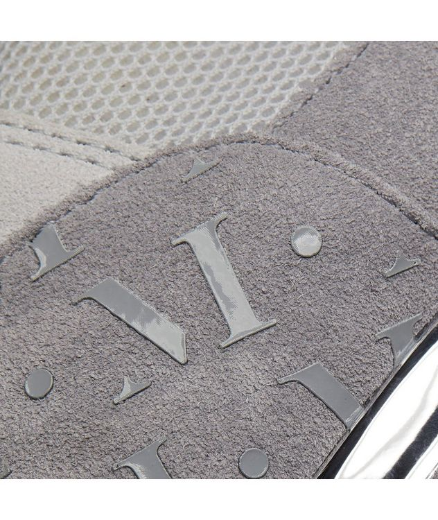Popham Mesh-Suede Sneakers picture 7