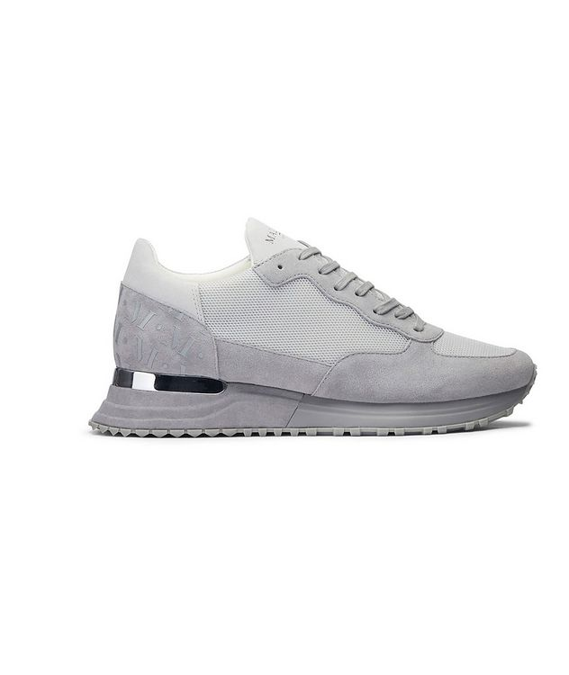 Popham Mesh-Suede Sneakers picture 1