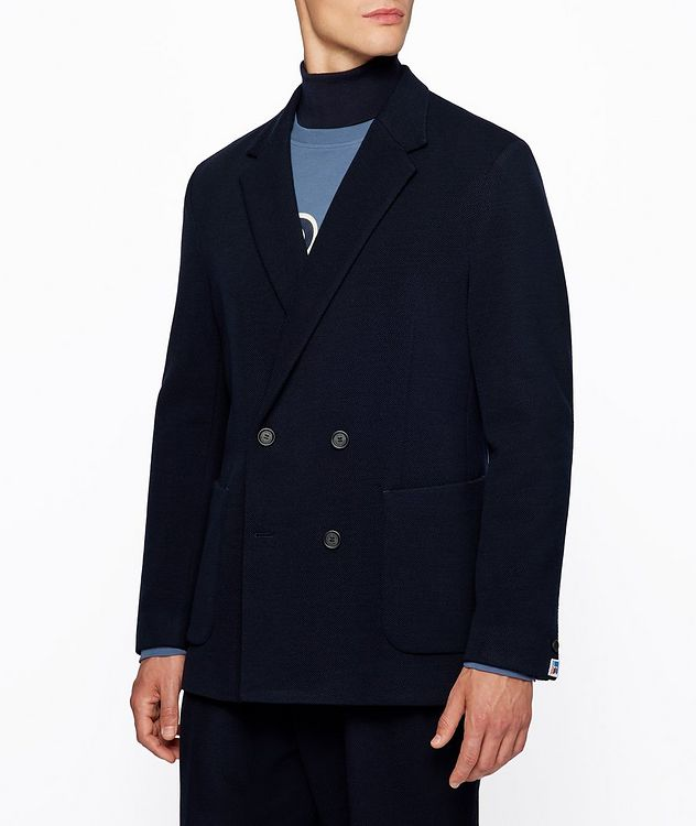 BOSS x Russell Athletic Wool-Blend Sport Jacket picture 2