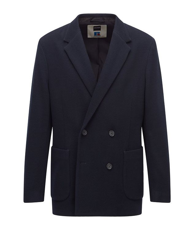 BOSS x Russell Athletic Wool-Blend Sport Jacket picture 1
