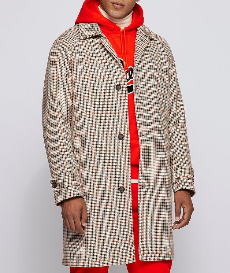 BOSS X Russell Athletic Houndstooth Coat image 1