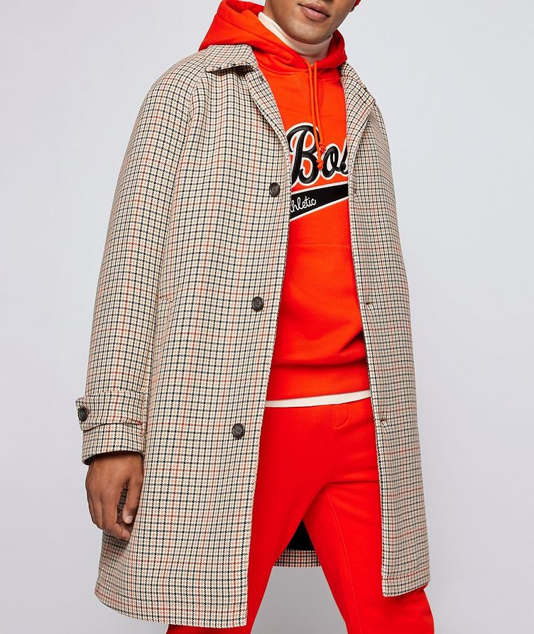 BOSS X Russell Athletic Houndstooth Coat image 2
