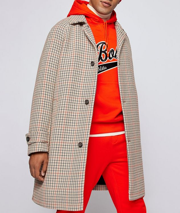 BOSS X Russell Athletic Houndstooth Coat picture 3