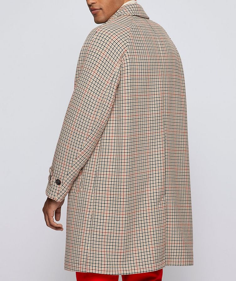 BOSS X Russell Athletic Houndstooth Coat image 3