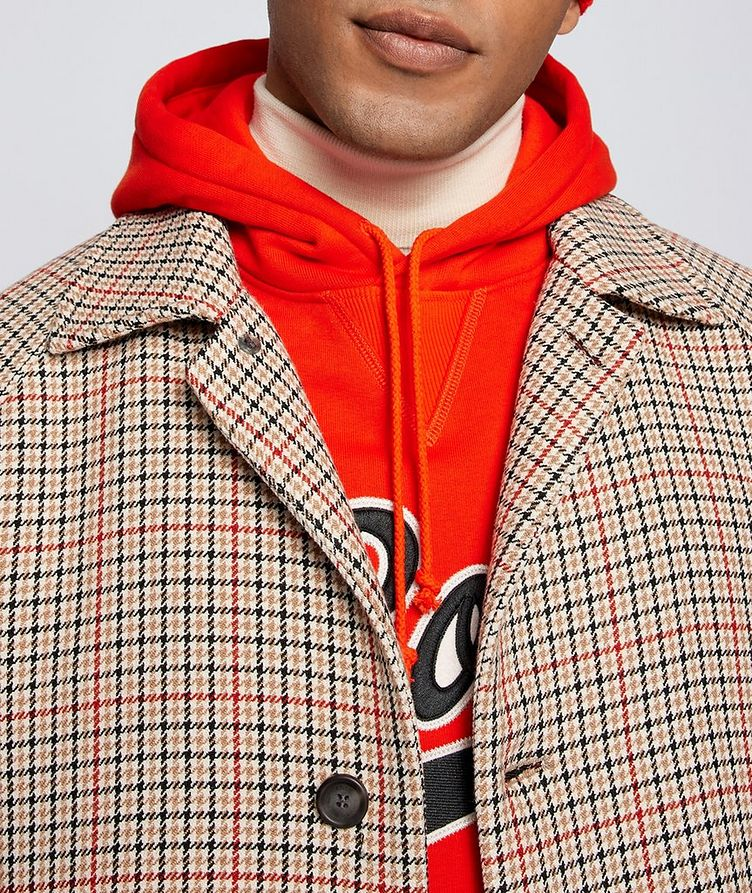 BOSS X Russell Athletic Houndstooth Coat image 4