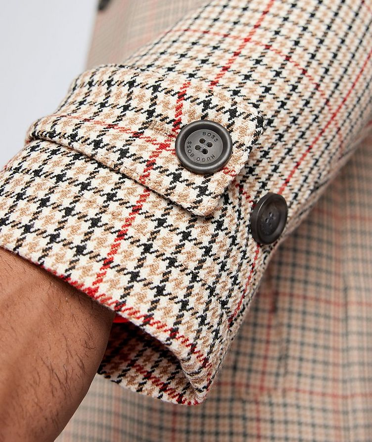 BOSS X Russell Athletic Houndstooth Coat image 5