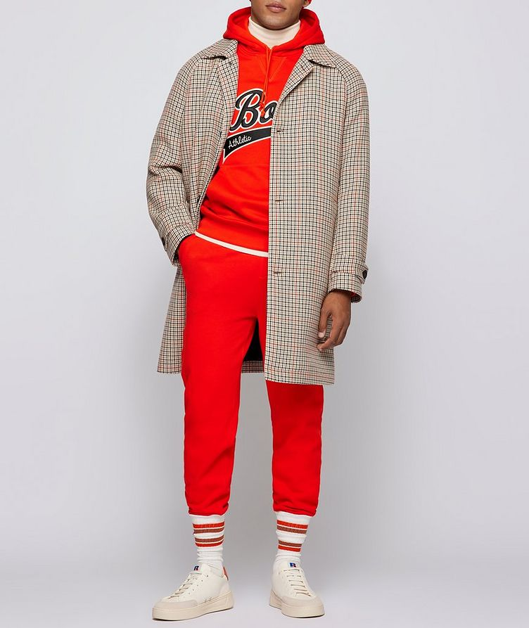 BOSS X Russell Athletic Houndstooth Coat image 6