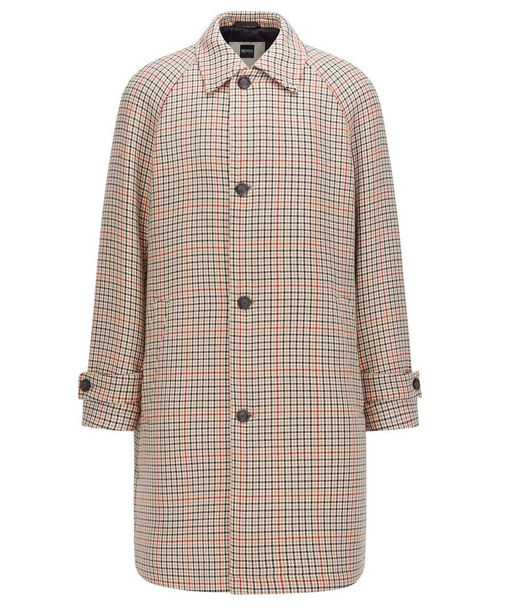BOSS X Russell Athletic Houndstooth Coat image 0