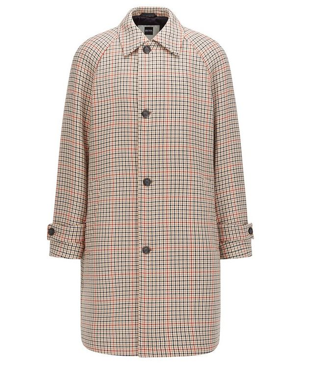 BOSS X Russell Athletic Houndstooth Coat picture 1
