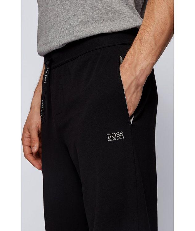 Drawstring Cotton Sweatpants picture 3