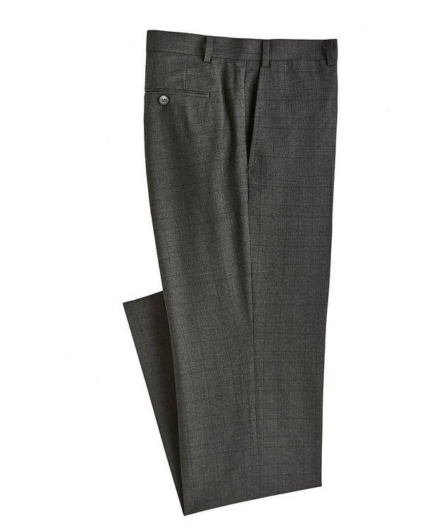 Glen Check Wool Dress Pants picture 1