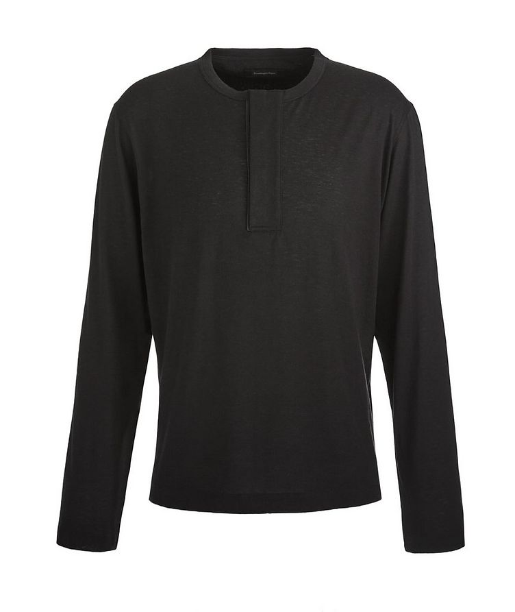 Cashco Long-Sleeve Henley T-Shirt image 0