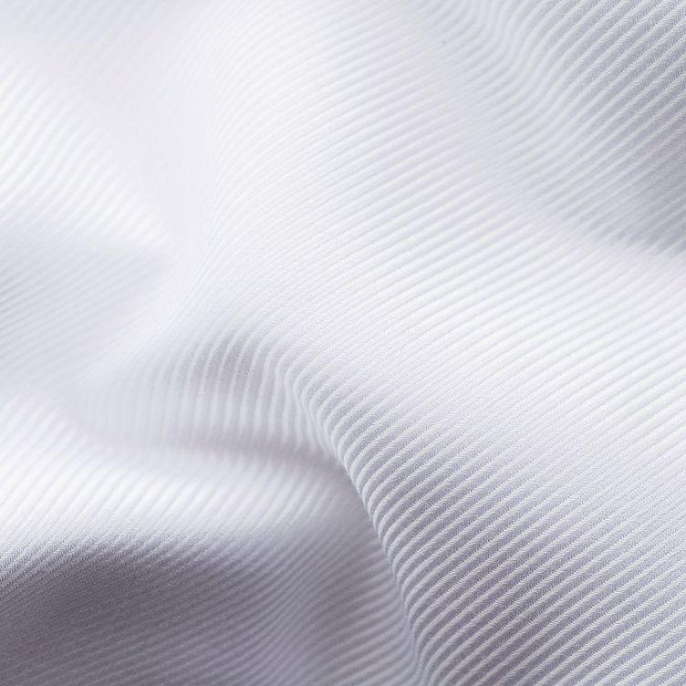 Chemise habillée à tissage diagonal de coupe contemporaine image 5