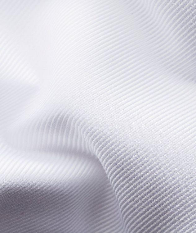 Chemise habillée à tissage diagonal de coupe contemporaine picture 8
