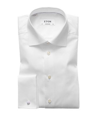 Eton Contemporary Fit French Cuff Dress Shirt