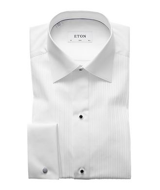 Eton Slim Fit Pleated Bib Front Tuxedo Shirt