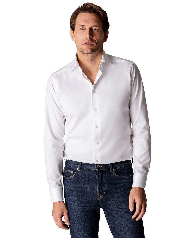 Slim Fit Organic-Cotton Dress Shirt image 1