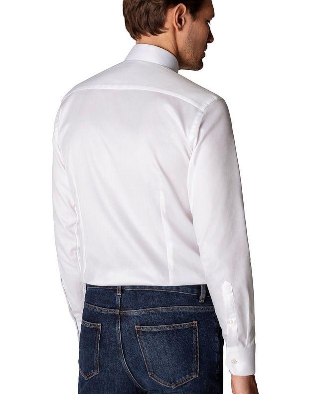 Slim Fit Organic-Cotton Dress Shirt picture 3
