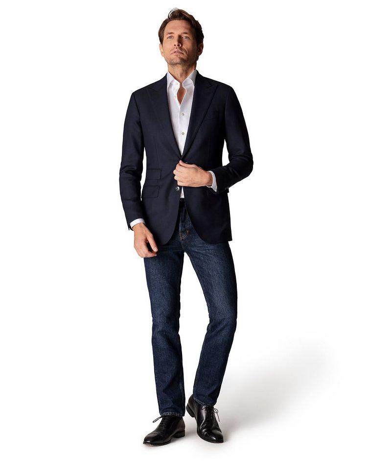 Slim Fit Twill Dress Shirt image 3