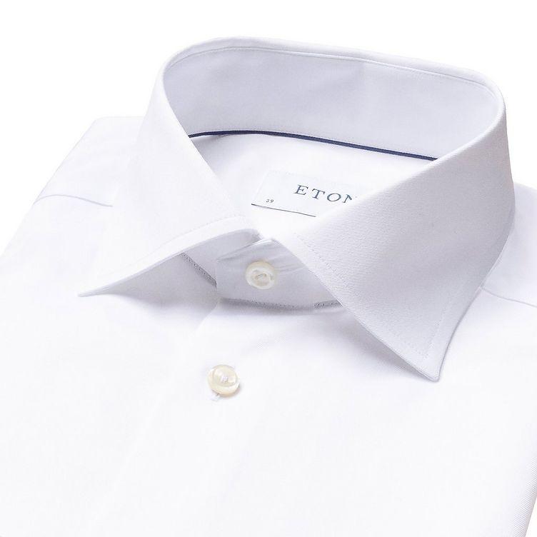 Slim Fit Twill Dress Shirt image 4