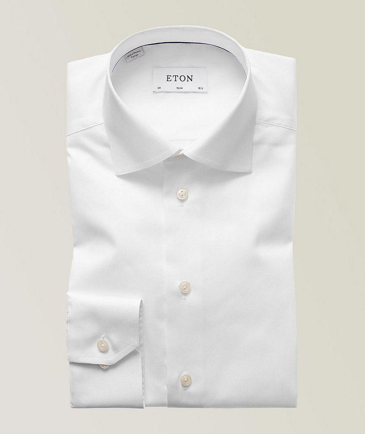 Slim Fit Organic-Cotton Dress Shirt image 0