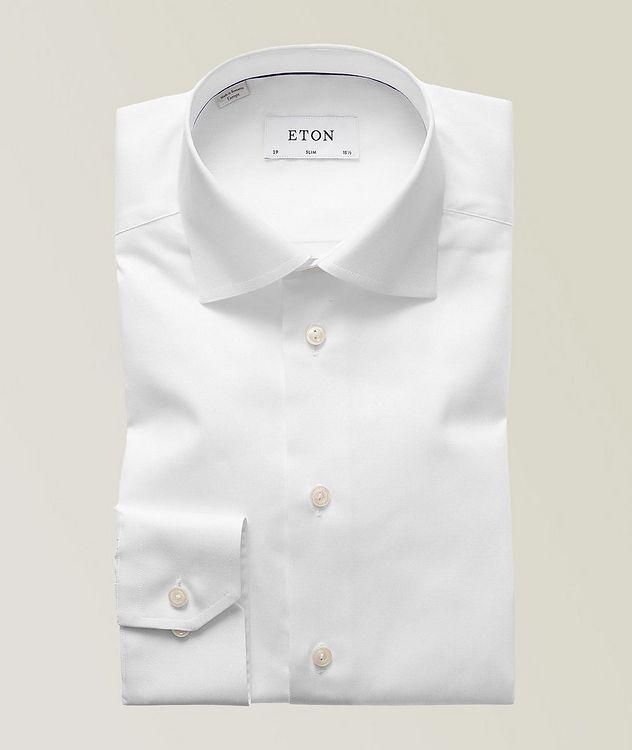Slim Fit Organic-Cotton Dress Shirt picture 1