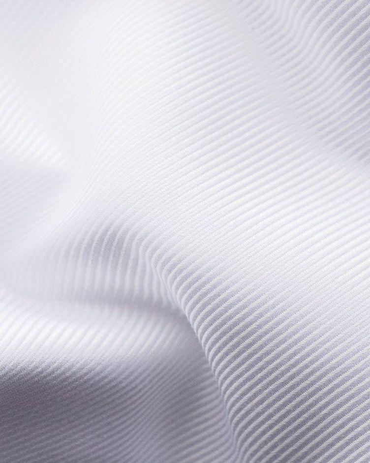 Slim Fit Diagonal Weave Dress Shirt image 4