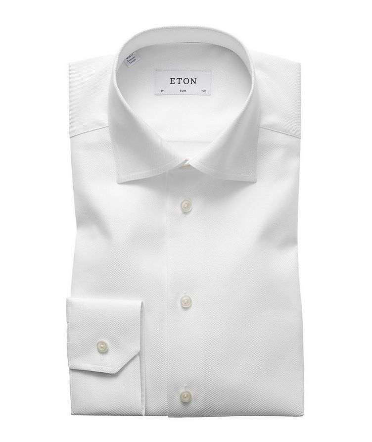 Slim Fit Organic-Cotton Dress Shirt image 0