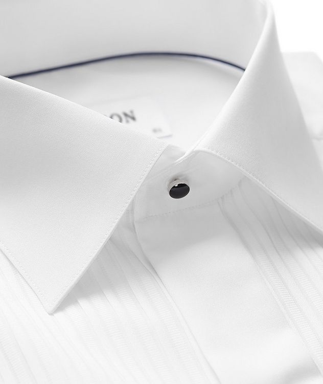 Classic Fit Pleated Bib Front Tuxedo Shirt  picture 2