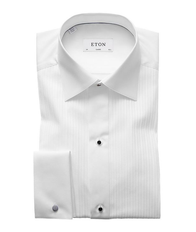 Classic Fit Pleated Bib Front Tuxedo Shirt  picture 1