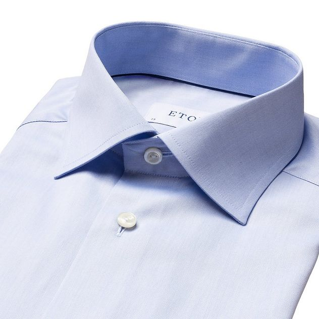 Contemporary Fit Twill Dress Shirt picture 5