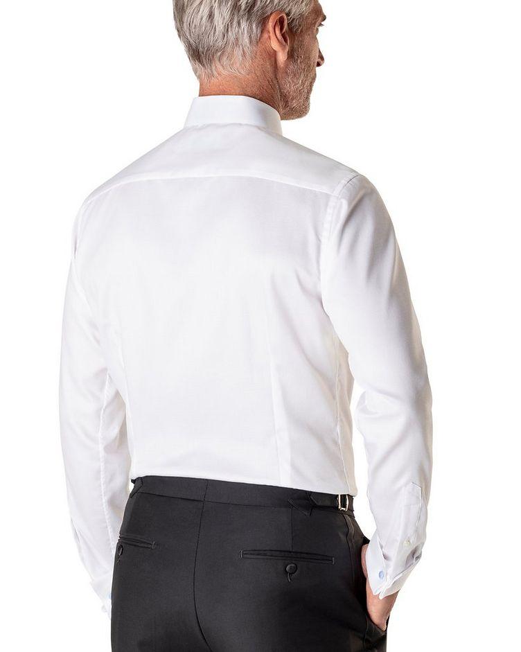 Contemporary Fit Diamond Weave Tuxedo Shirt  image 2