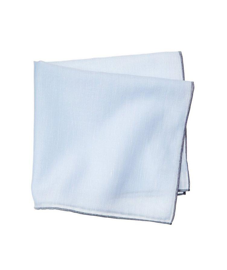 Linen-Cotton Pocket Square image 0